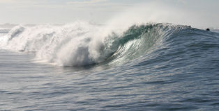 волна Самоа рифа Стоковое фото RF