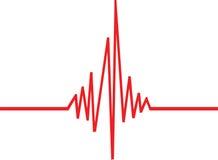 волна удара Стоковое фото RF