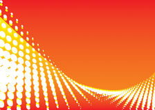 волна цвета предпосылки красная Стоковое Изображение RF