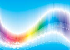 волна цвета Стоковое Фото