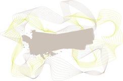 волна центра тонкая Стоковое Фото