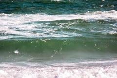 Волна шторма моря, морская предпосылка Стоковые Фотографии RF