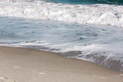 Волна шторма моря, морская предпосылка Стоковые Изображения RF
