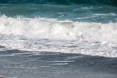 Волна шторма моря, морская предпосылка Стоковое фото RF