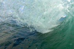 волна barreling стоковое фото