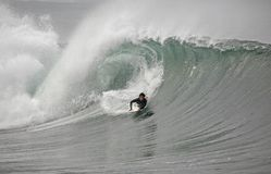 волна bodyboarder Стоковые Изображения