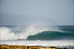 волна oahu совершенная Стоковые Фотографии RF