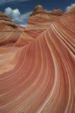 волна paria каньона Стоковое Фото