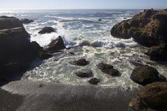 волна reyes пункта аварии california Стоковая Фотография
