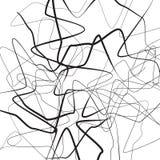 Волнистая несимметричная иллюстрация иллюстрация штока