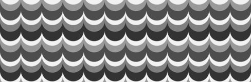 Волнистая предпосылка в тенях серого цвета иллюстрация штока