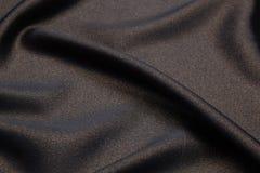 Волнистая предпосылка текстуры крупного плана ткани Стоковые Фотографии RF