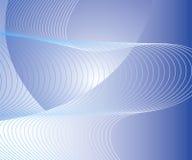 волнистое абстрактной предпосылки голубое Стоковое Фото