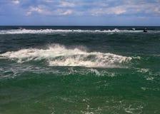 Волнистое Средиземное море Стоковое фото RF