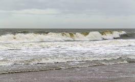 Волнисто пейзаж океана стоковые изображения