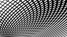 Волнистые пропуская линии абстрактная картина Вид решетки волны линий Вектор Eps10 иллюстрация штока