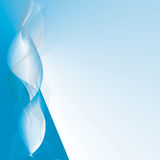 волны абстрактного backgroung цветастые Стоковые Фото