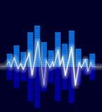 волны аудио Стоковые Фото
