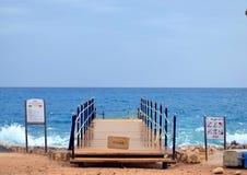 Волны в Красном Море стоковые фото