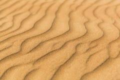 Волны в пустыне Стоковая Фотография