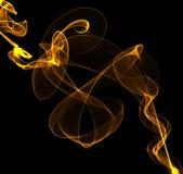 Волны конспекта красочные переплетенные иллюстрация штока
