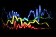 волны конспекта Стоковое Изображение RF