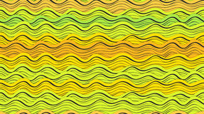 Волны конспекта Стоковое Фото