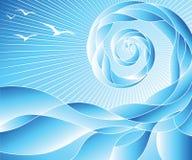 волны конспекта Стоковые Изображения