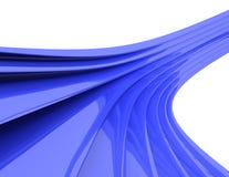 волны конспекта 3d стоковое фото rf