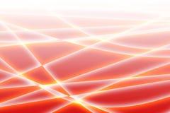 волны красного цвета иллюстрация вектора