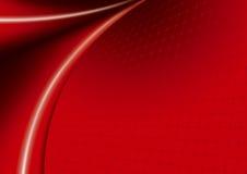 волны красного цвета Стоковое Фото
