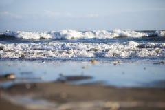 волны низкого уровня угла Стоковые Фото
