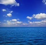 волны облаков Стоковое Изображение