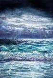 волны волны океана переднего плана фокуса Стоковые Изображения RF