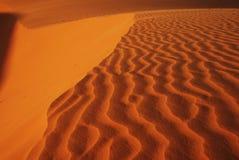 волны песка Стоковое фото RF
