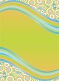 волны предпосылки Стоковое Изображение RF