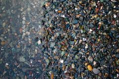 Утесы на береге стоковое фото