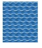 волны сини предпосылки Стоковые Изображения RF