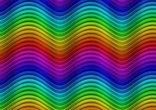 волны спектра Стоковые Изображения