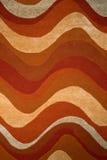 волны текстуры ковра Стоковые Фотографии RF