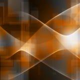 волны технологии Стоковая Фотография