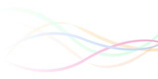волны цвета предпосылки Стоковое Фото