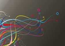 волны цвета бесплатная иллюстрация