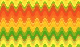 волны цитруса ретро Стоковая Фотография RF