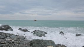 Волны Чёрного моря 006 акции видеоматериалы
