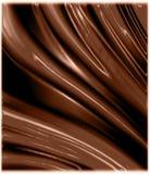 волны шоколада лоснистые Стоковое Изображение