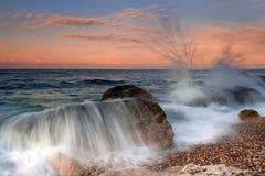 волны шторма Стоковые Фотографии RF