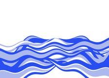 волны иллюстрация штока