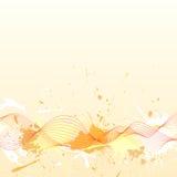волны grung предпосылки красивейшие покрашенные Стоковая Фотография RF