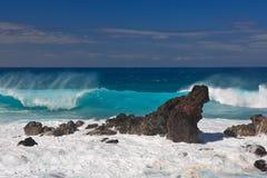 Волны Hookipa Стоковые Фото